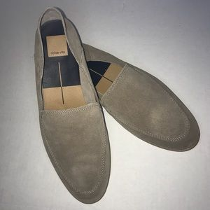 Dolce Vita Pixy Loafer 11M in Almond Suede. New!